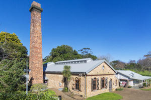Takapuna Pumphouse & Chimney
